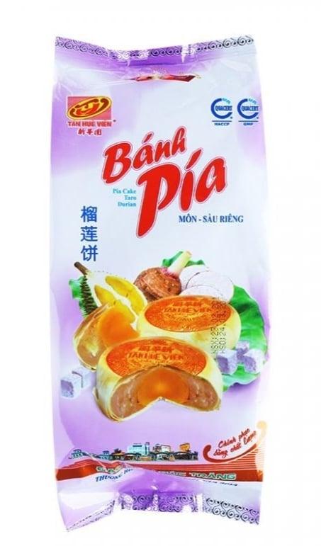 bánh hạnh nhân, bánh pía Tân Huê Viên thơm ngon