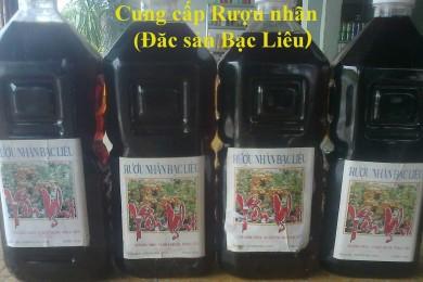 Rượu nhãn Bạc Liêu