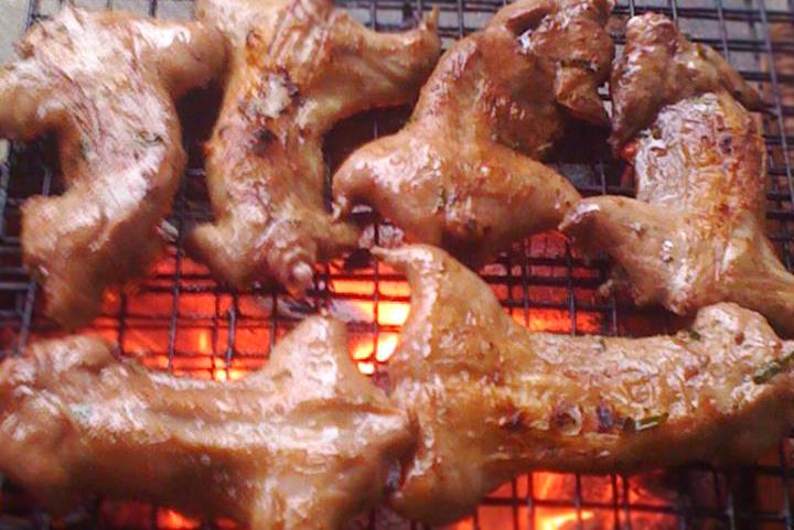 Thịt chuột đồng nướng