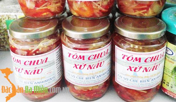 Tôm chua xứ Nẫu
