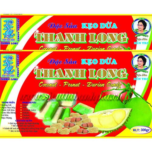 Kẹo dừa Thanh Long 40.000/hộp