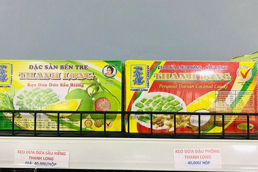 Kẹo dừa Bến Tre Thanh Long