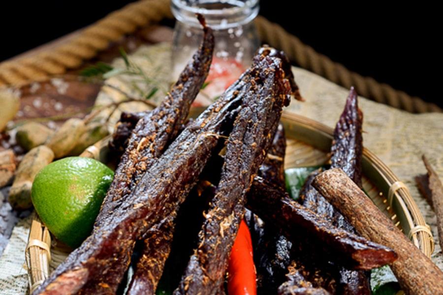 Khô trâu Siemriep với hương vị đặc trưng