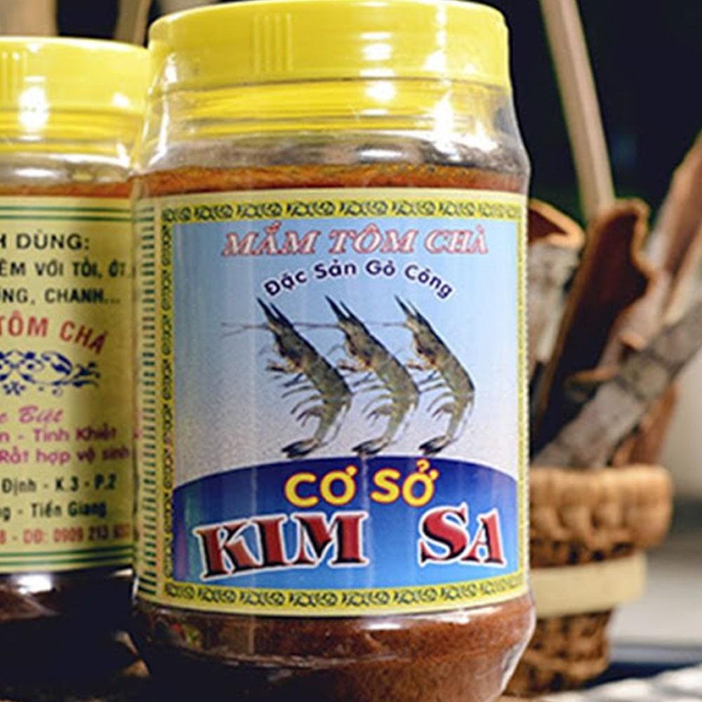 Mắm tôm chà Gò Công - Đặc sản Tiền Giang