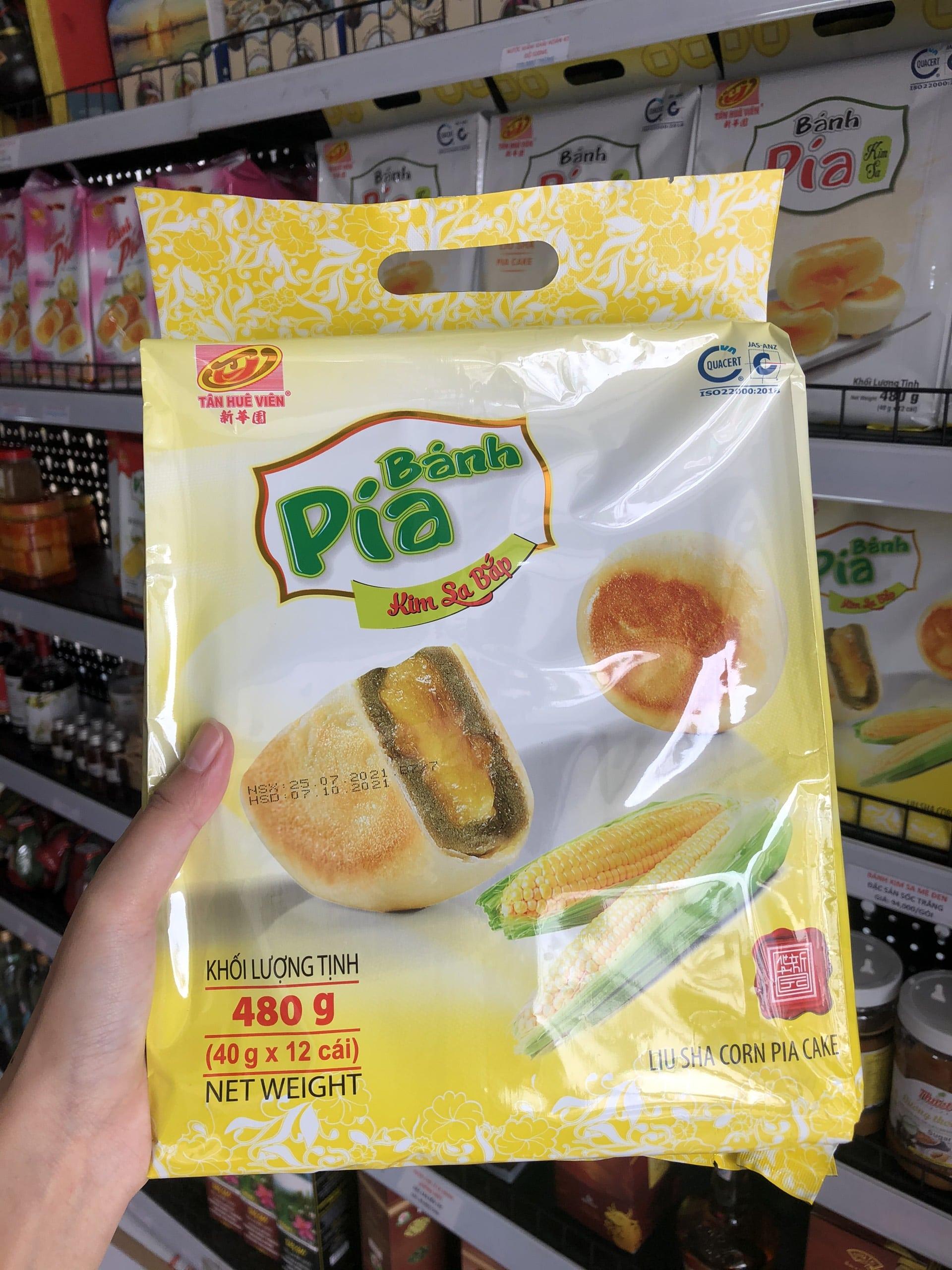 bánh pía Kim Sa Bắp