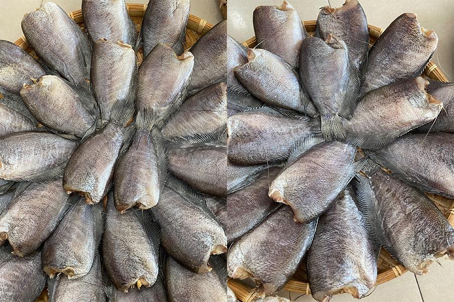 Khô cá sặc bổi Cà Mau tại cửa hàng chất lượng